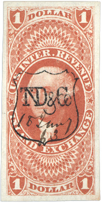 Thomas N. Dale & Co. shield cancel