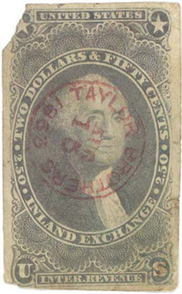 Rare, albeit munged R84a, with a lovely contrasting Taylor Brothers cancel
