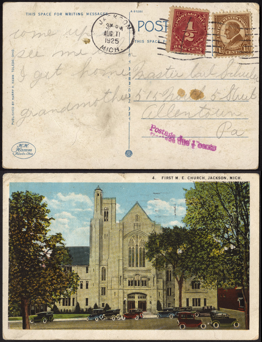 U S Half Cent Postage Dues On Cover Stamp Community Forum
