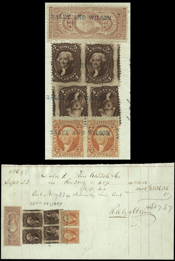 U S  Revenue Stamps Used on Documents - Revenue-Collector Com