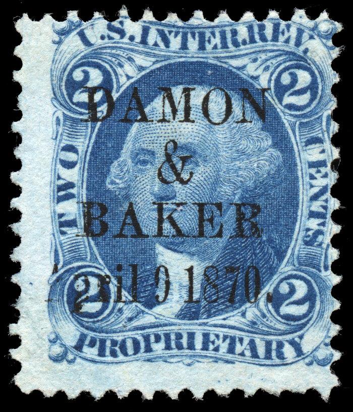 U S  Revenue Stamp Museum: Superb and Rare - Revenue